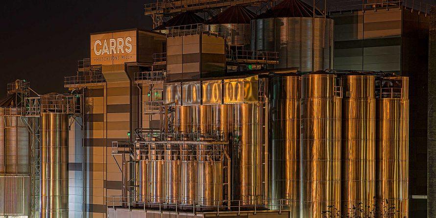 Carr's flour factory mill UK