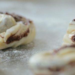 Chetna Makan's Cardamom and Chocolate Rolls Recipe | Carr's Flour
