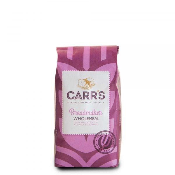 Breadmaker Wholemeal Flour | Carr's Flour