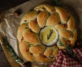 Chestnut Pancette Wreath Recipe | Christmas | Carr's Flour