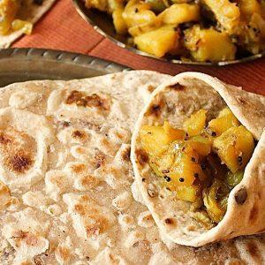 Chetna Makan's Flatbread Wraps Recipe | Carr's Flour