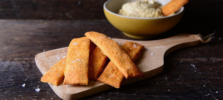 Chilli & Paprika Sourdough Crackers | Carr's Flour