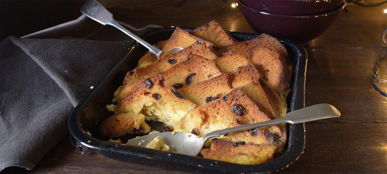 Brioche Bread and Butter Pudding Recipe | Christmas | Carr's Flour