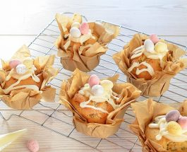 Easter Simnel Muffins   Carr's Flour