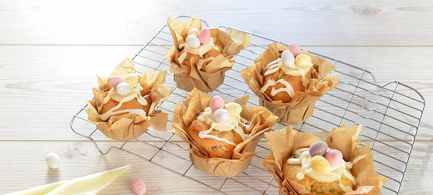 Easter Simnel Muffins | Carr's Flour