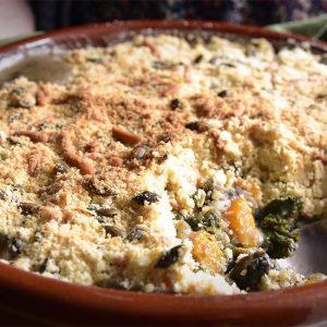 Vegetable Crumble Recipe | Carr's Flour