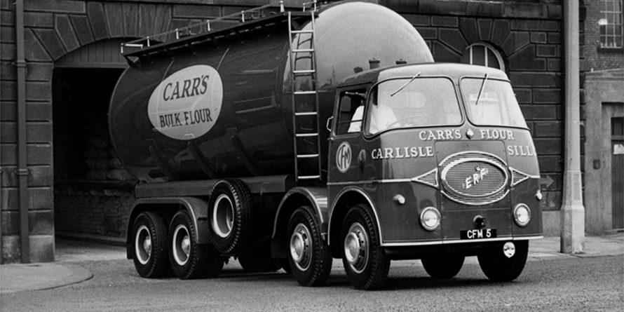 Old Carr's flour van