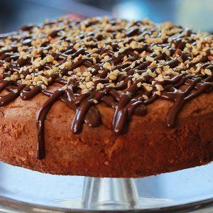 Chetna Makan's Pear & Chocolate Cake Recipe | Carr's Flour