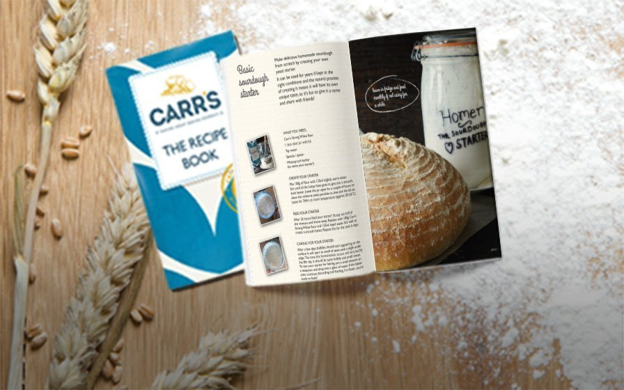 Carr's Flour recipe book