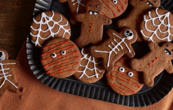 Halloween Spooky Biscuits Recipe   Carr's Flour