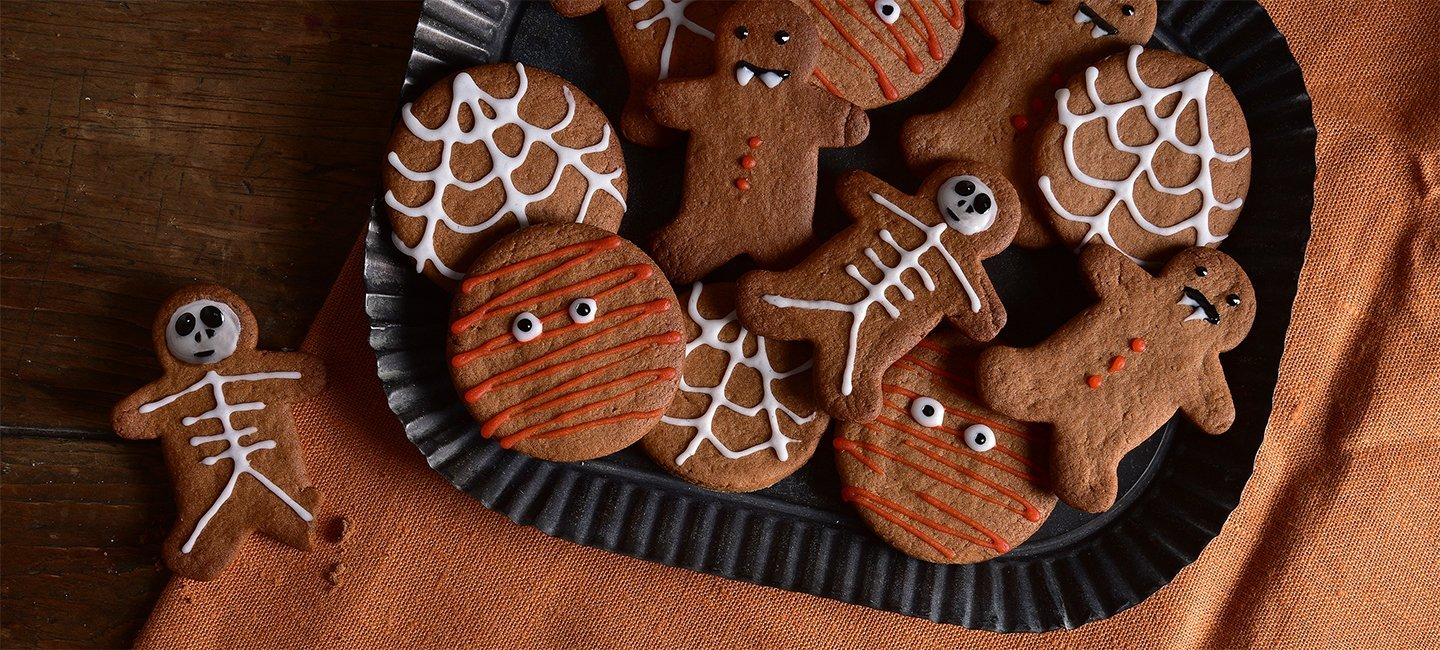 Halloween Spooky Biscuits Recipe | Carr's Flour