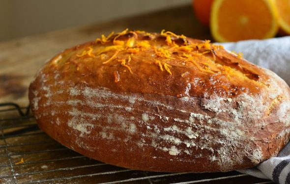 Tangy Marmalade Loaf | Carr's Flour