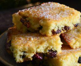 Cranberry & Lemon Traybake | Carr's Flour